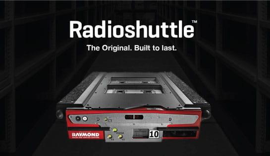 radioshuttle pallet shuttle system