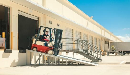 Forklift Incline