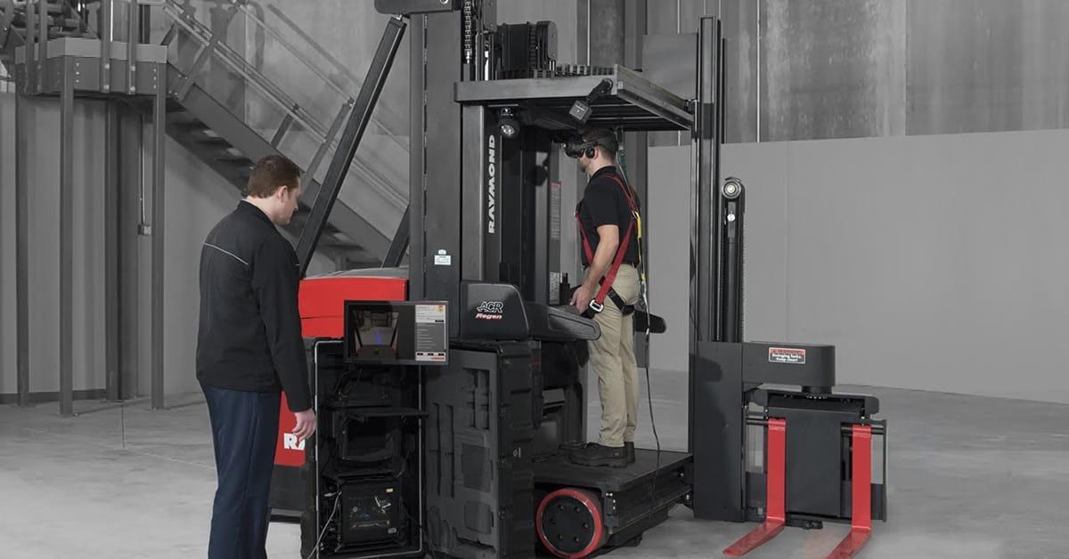 virtual reality forklift training