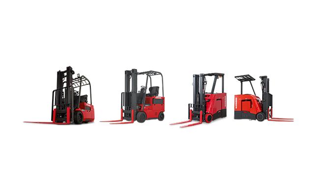 Stand up forklift, sit down forklift, forklifts, Raymond forklift, electric Forklift