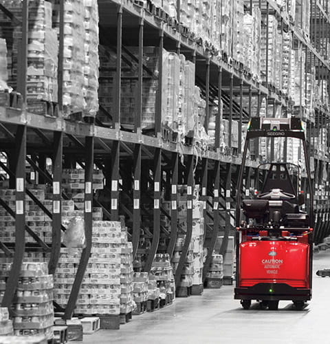 automated forklift, automation