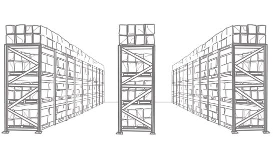 pallet racking, warehouse racking