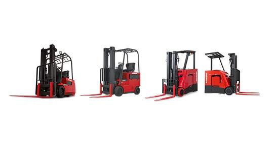 Raymond Counterbalanced Forklift Trucks